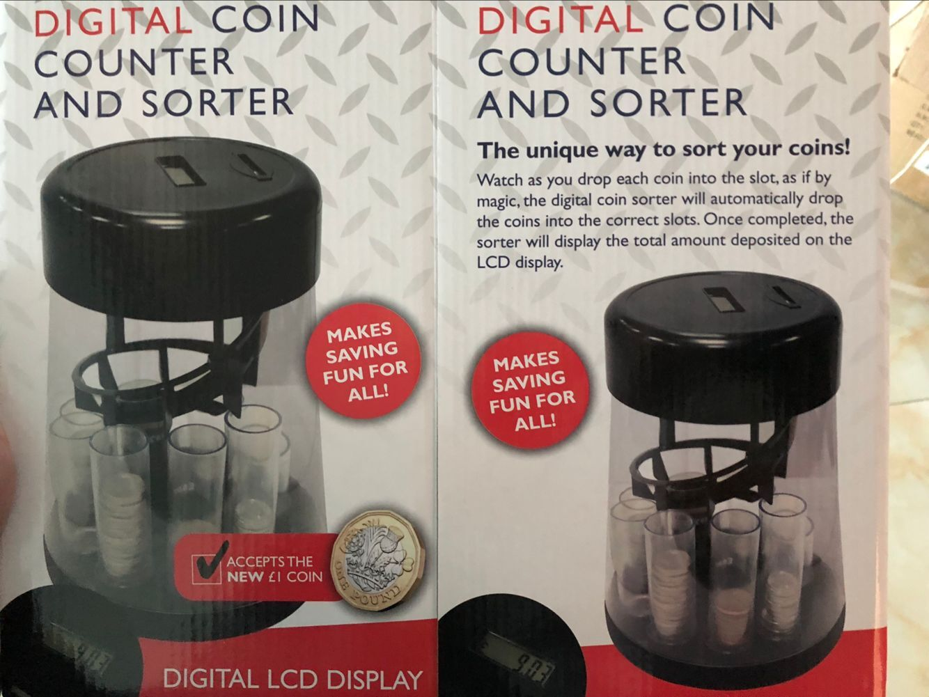 Digital Coin Counter And Sorter-ZM-HOG385