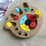 Wooden Pet Treat Paw